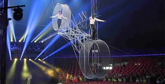 Le 4ème festival du cirque international de Corse est arrivé à Ajaccio