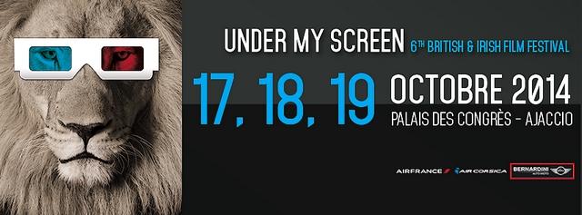 """Le festival du film Anglais et Irlandais """"Under My Screen"""" aura lieu du 16 au 19 octobre. (Doc d'illustration : DR)"""