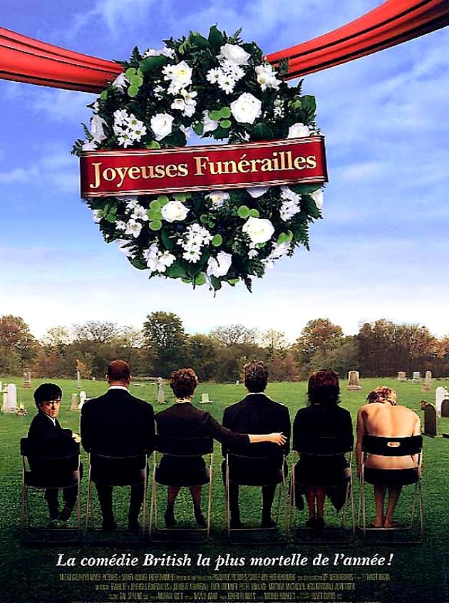 """""""Joyeuses funérailles"""", une comédie britannique truculente du réalisateur Franck Oz à découvrir en ouverture de cette 6è édition du festival ! (Photo : DR)"""