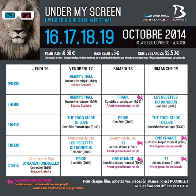 La 6è édition du festival « Under My Screen » entre passion et absence de subvention…