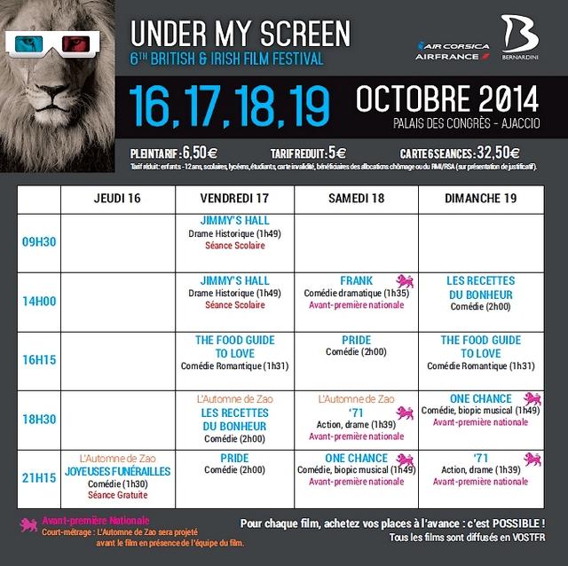 La 6è édition du festival « Under My Screen » entre passion et absence de subvention…