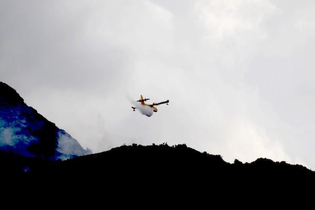 Il faudra plusieurs jours pour venir à bout de l'incendie de Calenzana