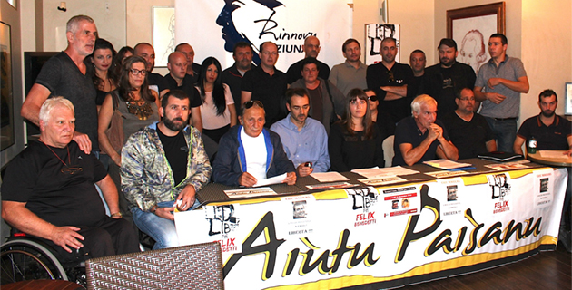 Aitu Paisanu et U Rinnovu demandent la libération de Eric Marras et Felix Benedetti