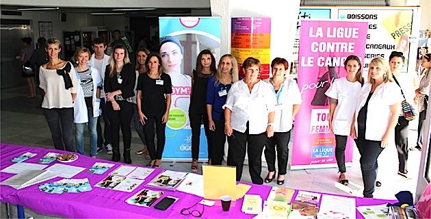 Octobre Rose : L'hôpital de Bastia aussi