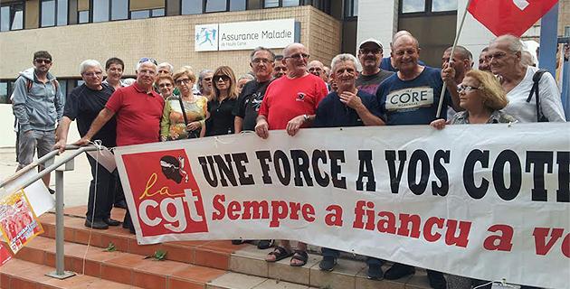 Bastia : La CGT se mobilise pour la défense de la Sécurité sociale