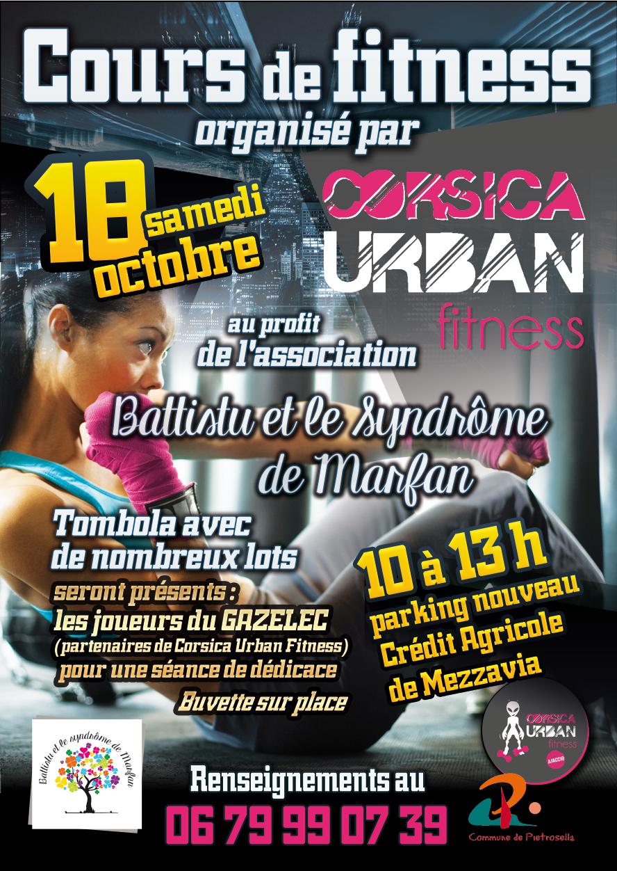 Corsican Urban Fitness et la commune de Pietrosella s'engagent pour Battistu atteint du syndrome de Marfan