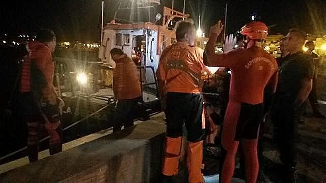 La vedette de sauvetage SNS128 de Calvi heurte en pleine nuit  un rocher: Deux blessés