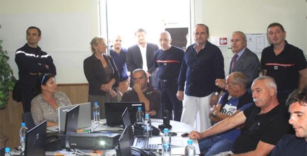Lancement à Calvi de la première session de sensibilisation à la gestion de crise territoriale