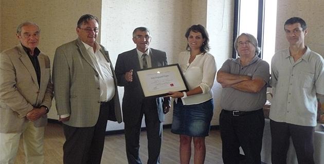 L'association Corse Musicothérapie reçoit le prix pour l'éducation 2014