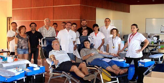 71 poches de sang collectées à Calvi
