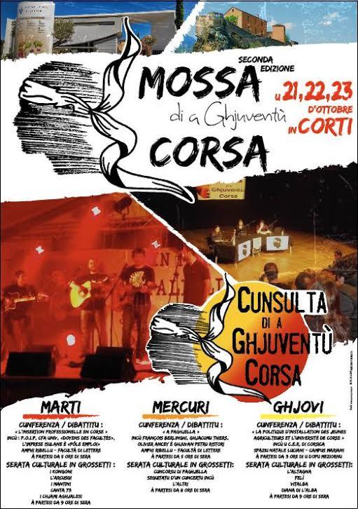 """Corte : """"L'insertion professionnelle en Corse"""" selon la """"Mossa di a Ghjuventù Corsa"""""""