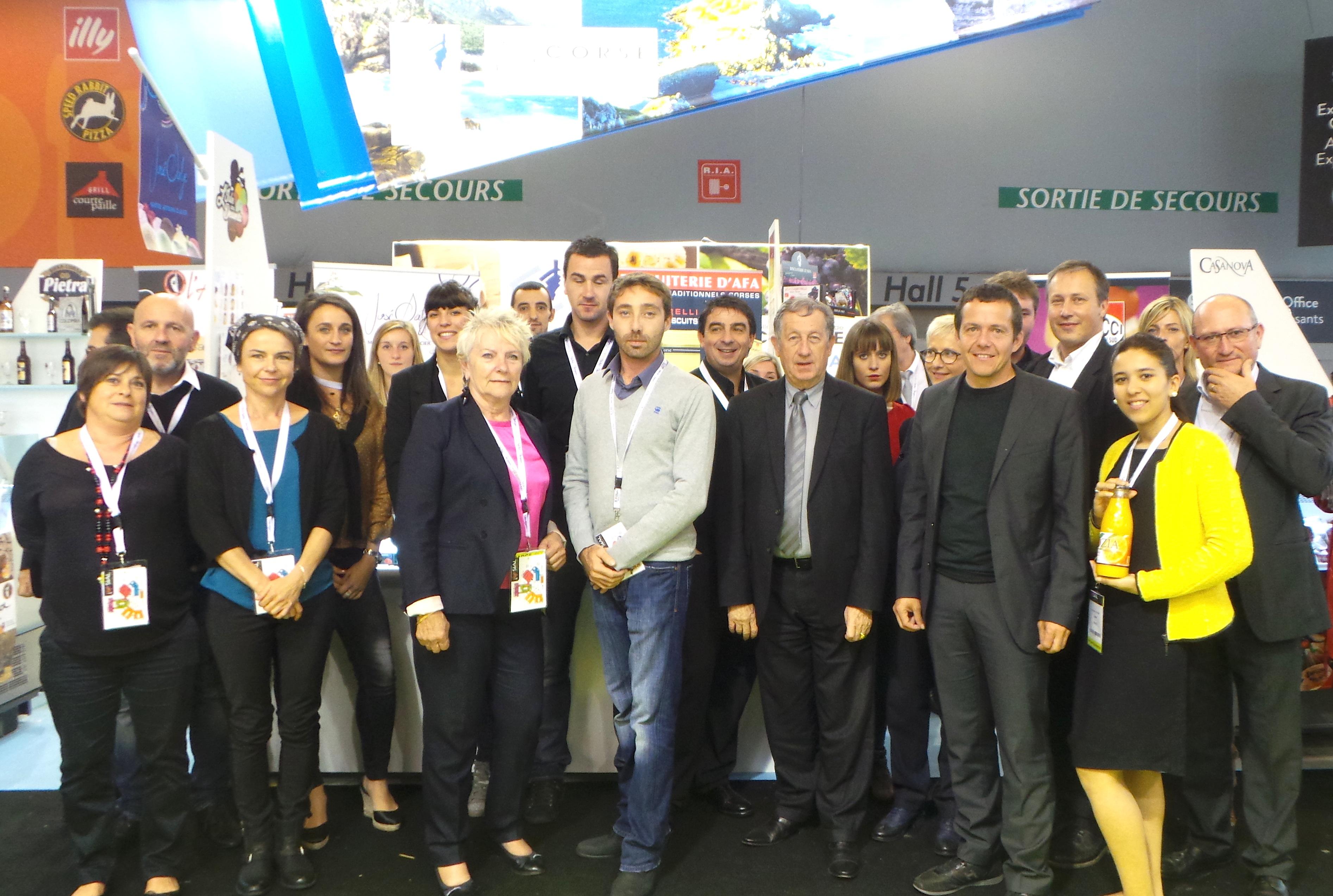 L'excellence de la Corse au salon international de l'agroalimentaire