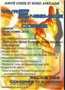 Amitié Corse et Nord Africaine en conférence samedi à Ajaccio