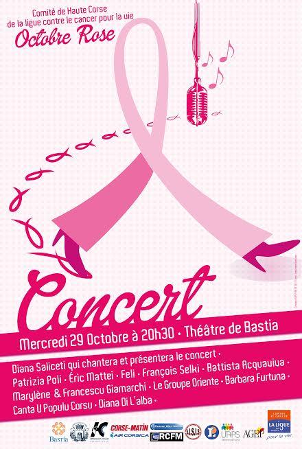 """Octobre Rose"" à Bastia : Un concert mercredi au Théâtre"