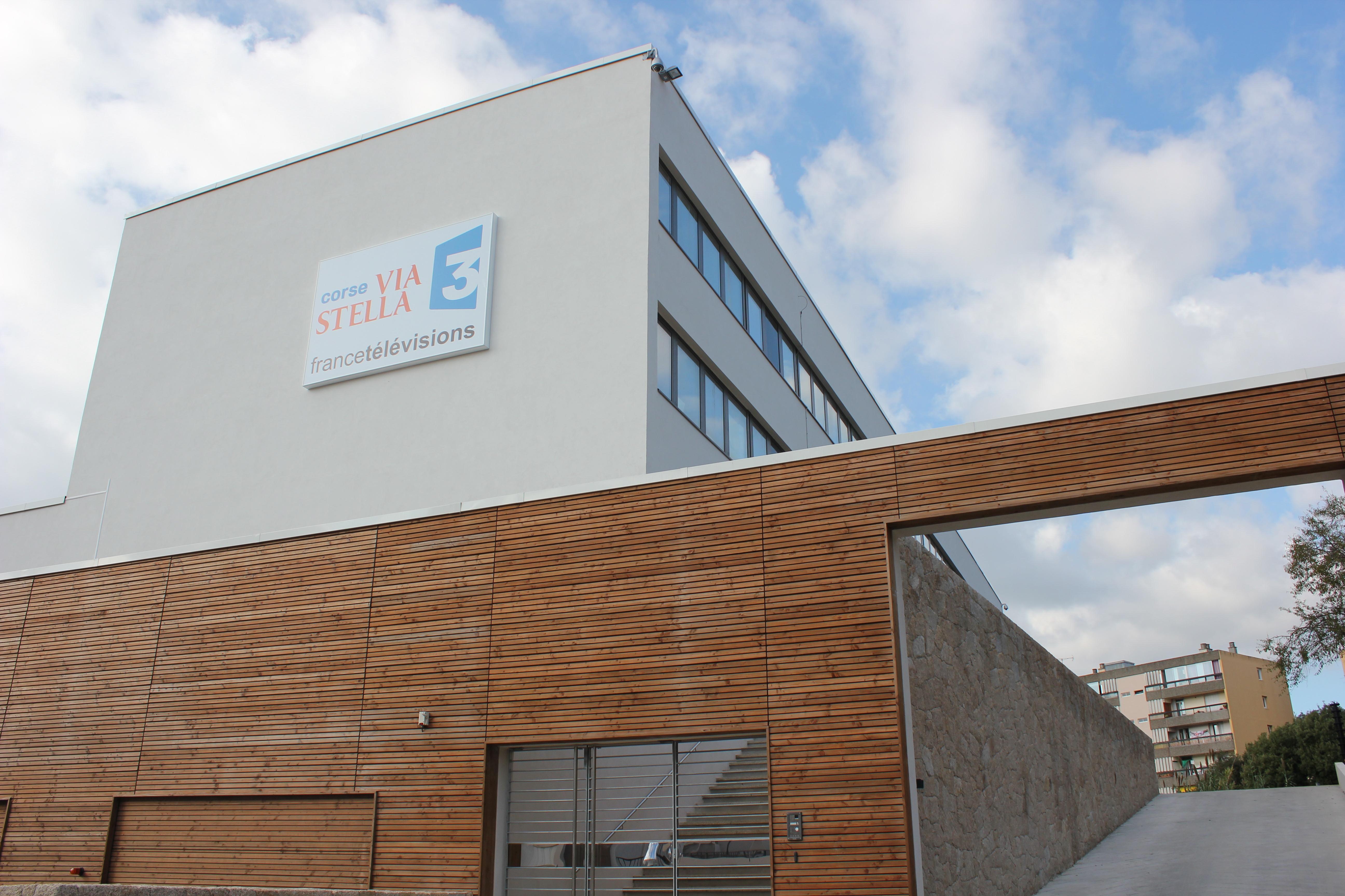 France 3 Corse  Via Stella investit ses nouveaux locaux