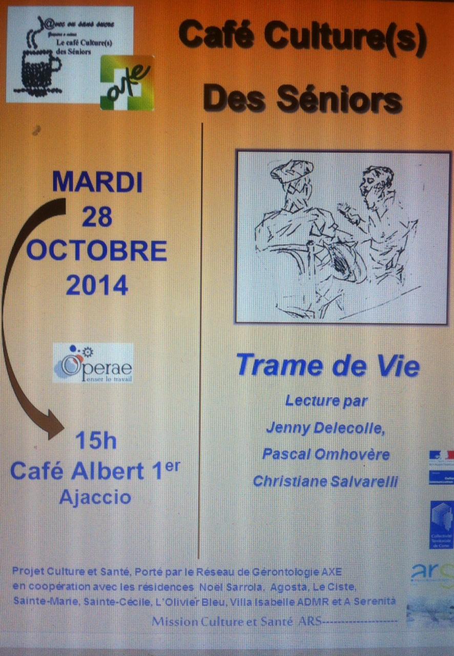 Ajaccio : @vec ou sans sucre : Les Cafés cultures saisons 2014-2015, c'est reparti