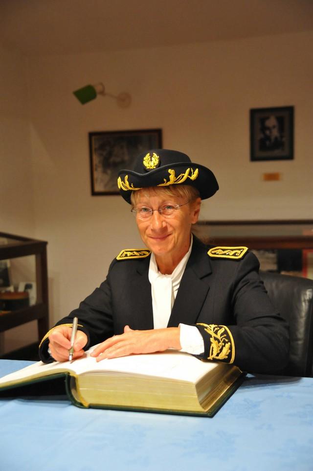 Anne Ballereau hôte du 2e REP de Calvi