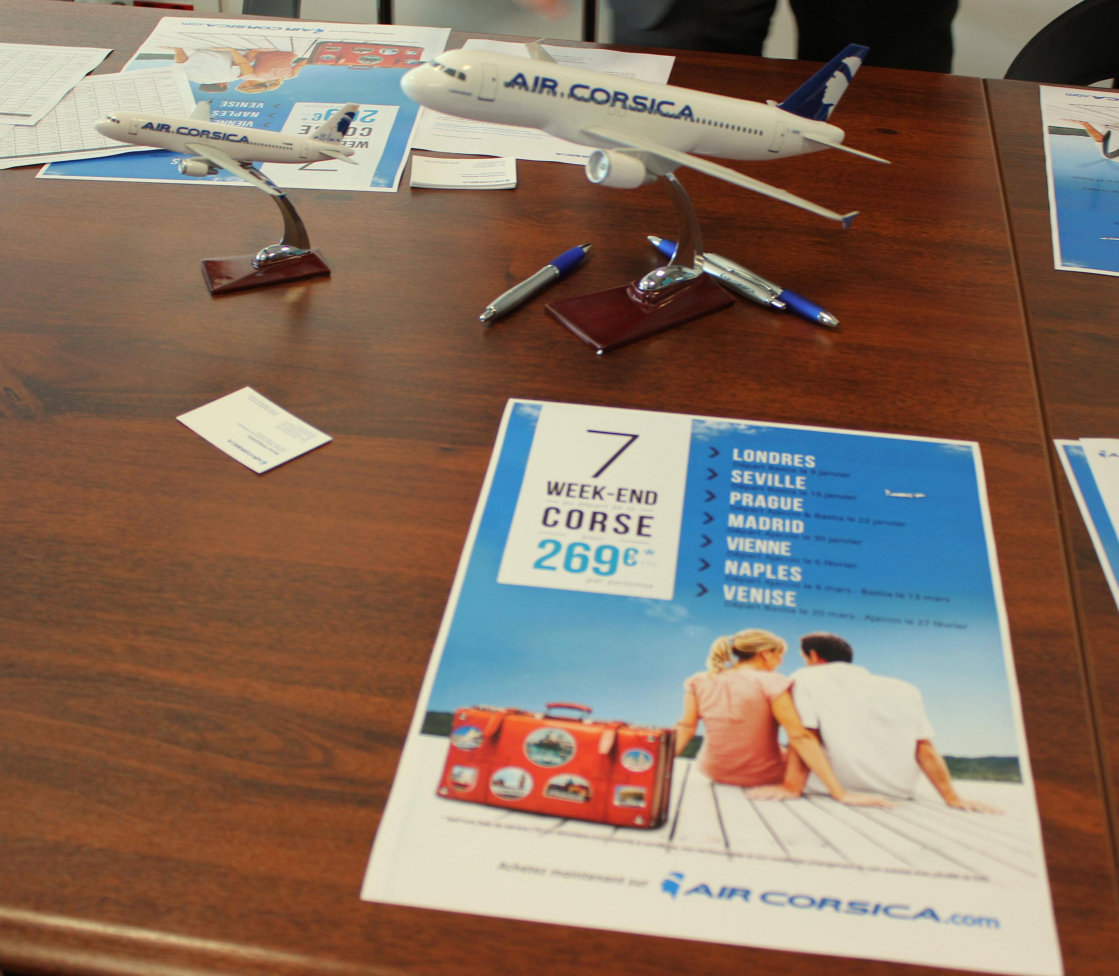 Air Corsica s'envole vers les métropoles européennes