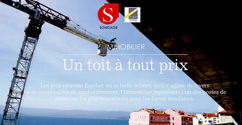 Immobilier en Corse :  Un toit à quel prix ?