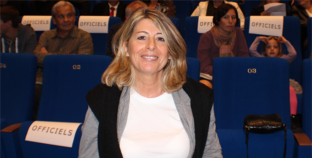 Claudie Mamberti, directrice artistique du nouvel espace culturel.