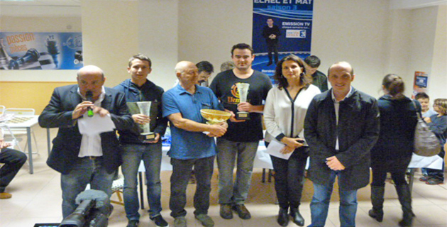 """Echec club ajaccien : Encore un succès pour le tournoi """"Via Stella"""""""