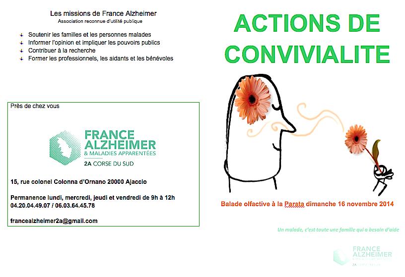 Un café-mémoire et une balade olfactive avec France-Alzheimer