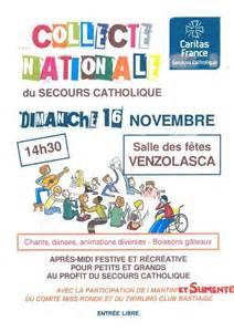 La collecte nationale 2014 du secours catholique a débuté