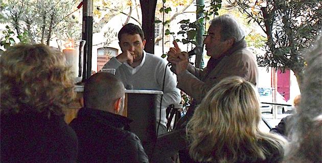 """Olivier Rolin invité par la librairie """"Les deux mondes"""""""