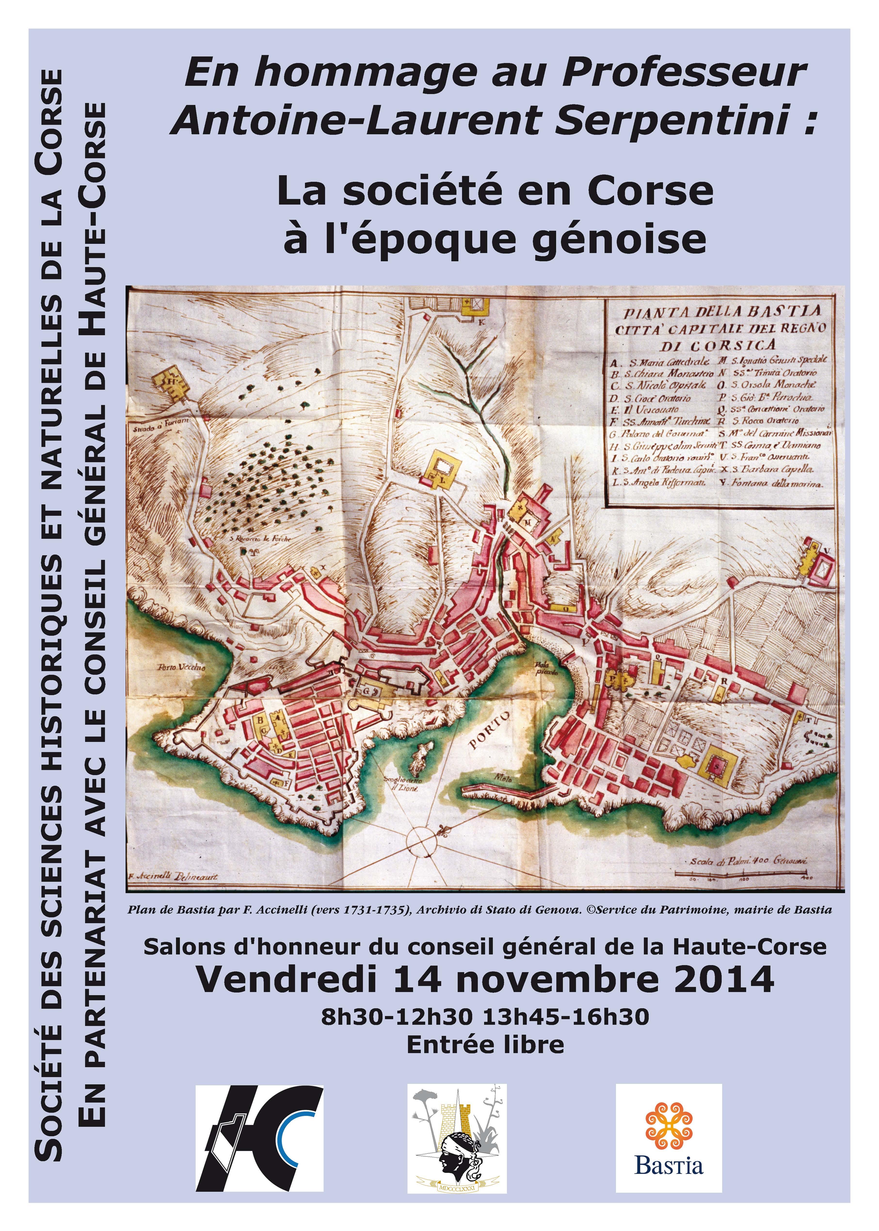 Bastia : La Société des Sciences rend hommage à Antoine-Laurent Serpentini