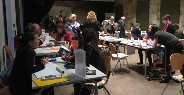 Workshop au Palais des gouverneurs à Bastia.
