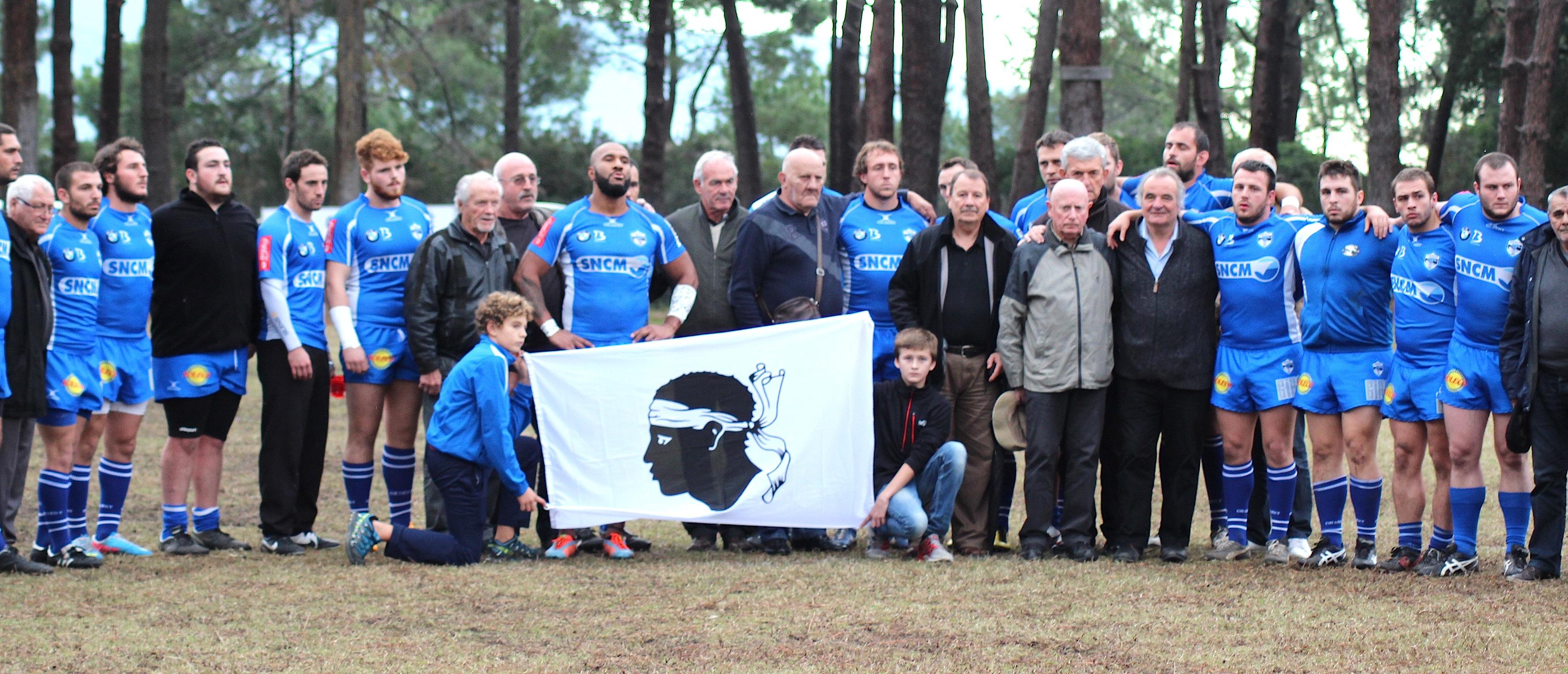 Une minute de silence a été observée au coup d'envoi à la mémoire de Claude Ragazacci
