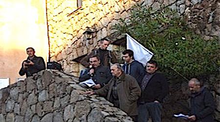 Porto-Vecchio : Rassemblement de soutien à Olivier Sauli