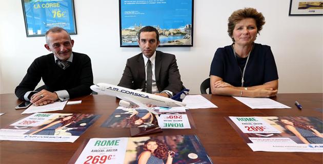 Air Corsica : Le printemps des escapades vers la ville éternelle