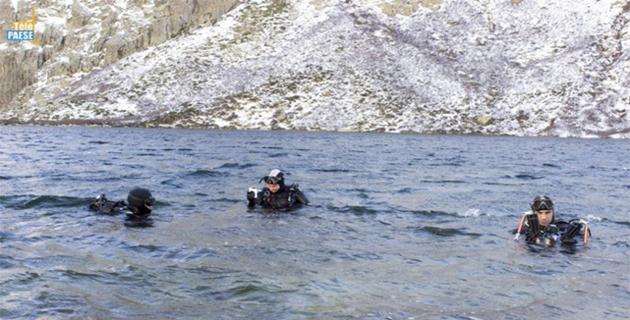 Le CPIE Corte Centre-Corse  réalise des vidéos subaquatiques au lac de Melo et Lac de Ghjalicatapiano