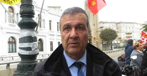Michel Stefani, conseiller territorial du Front de Gauche, membre du Parti communiste.