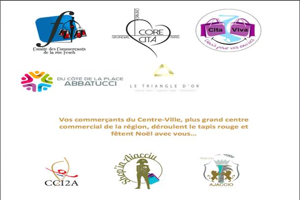 Ajaccio : Les programme des commerçants pour la fin de l'année
