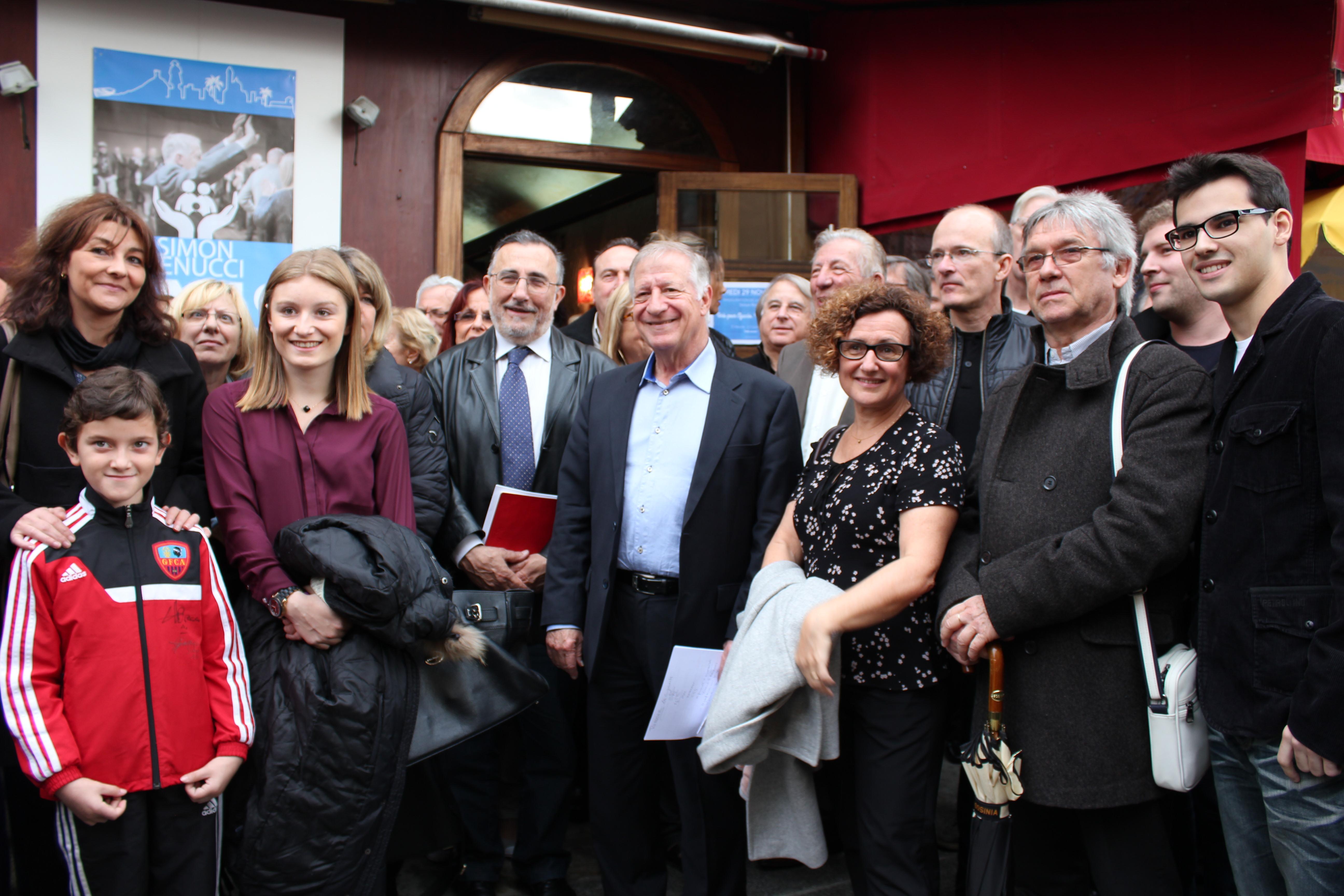 Ajaccio : Simon Renucci inaugure sa permanence