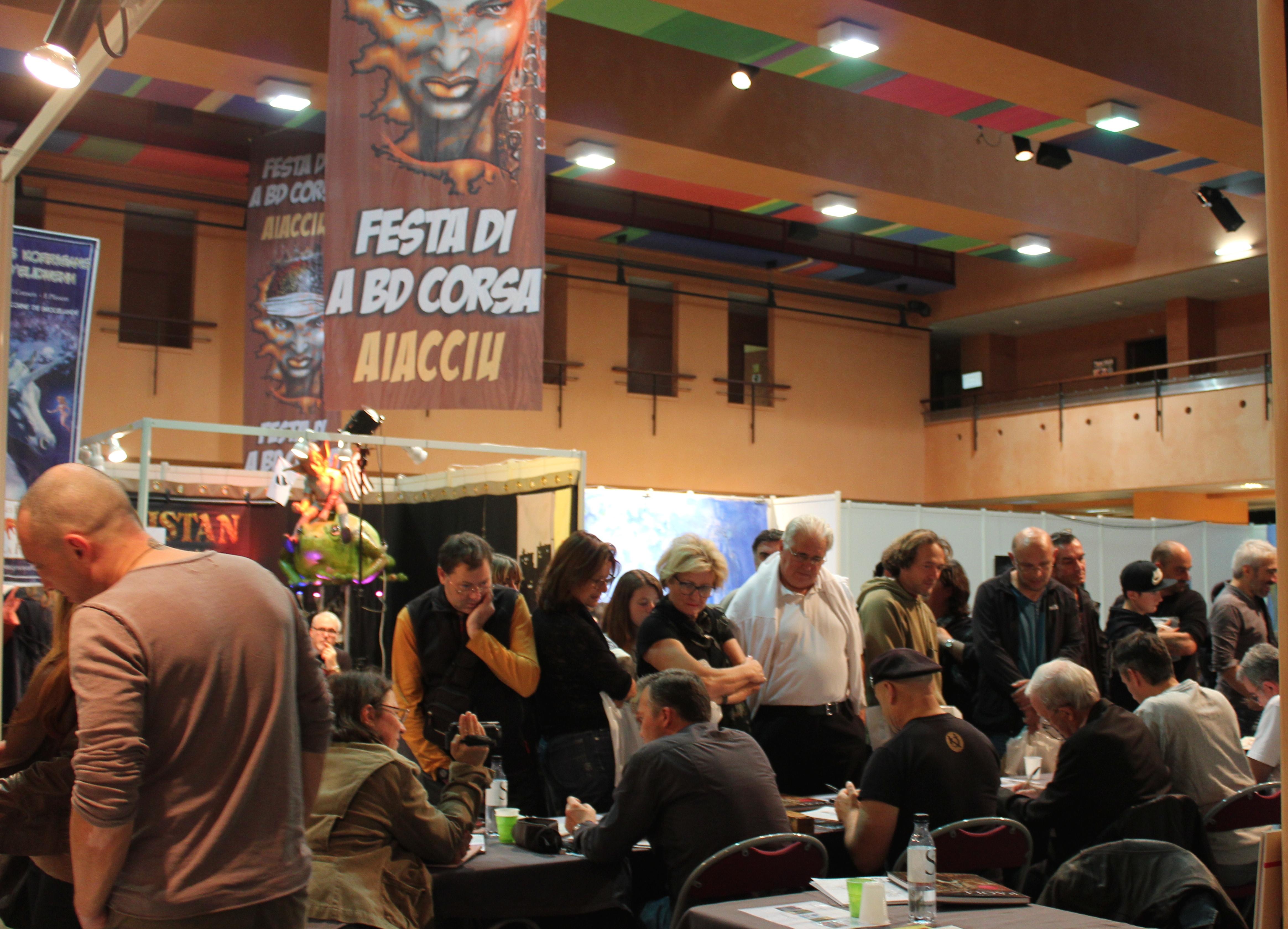 Festival de la BD d'Ajaccio : Des cases, des bulles et un franc succès