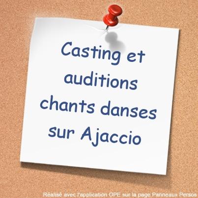 """Ajaccio :  Un casting de chanteurs et de danseurs pour l'opérette d'Offenbach """"La belle Hélène"""""""