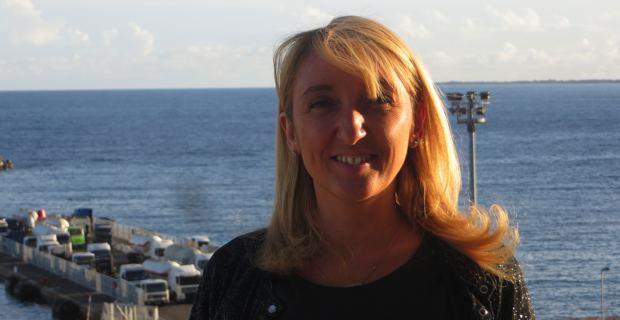 Emmanuelle De Gentili, 1ère adjointe à la mairie de Bastia, déléguée à la Politique de la Ville, au Renouvellement urbain et à la vie de quartiers, en charge des Affaires européennes et internationales.