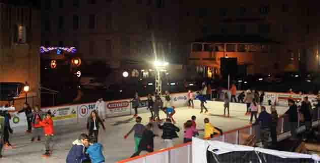 La patinoire de Calvi a ouvert ses portes