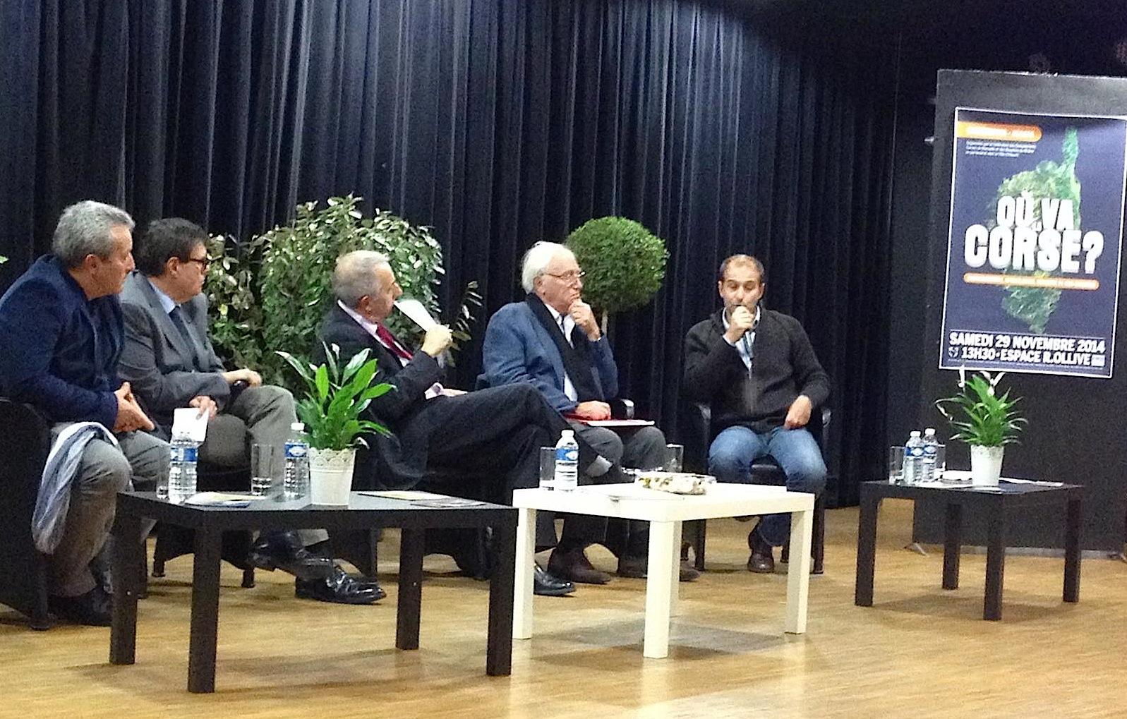 """""""Où va la Corse"""" : Un débat riche et dense à Allauch"""