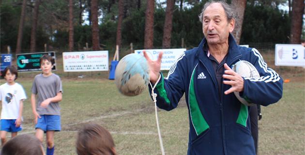"""Pierre Villepreux à Bastia :"""" Le rugby français manque de qualité"""" !"""