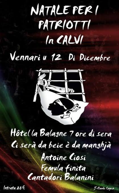 """""""Natale per i patriotti"""" au VV La Balagne à Calvi"""