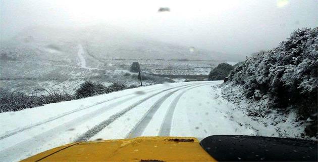 Météo : Les premières neiges sur les hauteurs de la Balagne