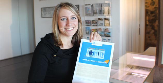 Roxanne Hasselbein, chargée d'études à l'Oref (Observatoire régional de l'emploi et de la formation)