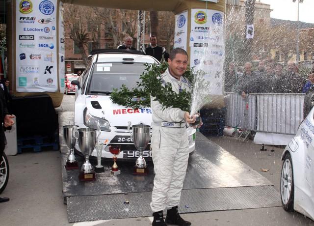 Et de ... 9 pour Pascal Trojani au Rallye de Balagne !