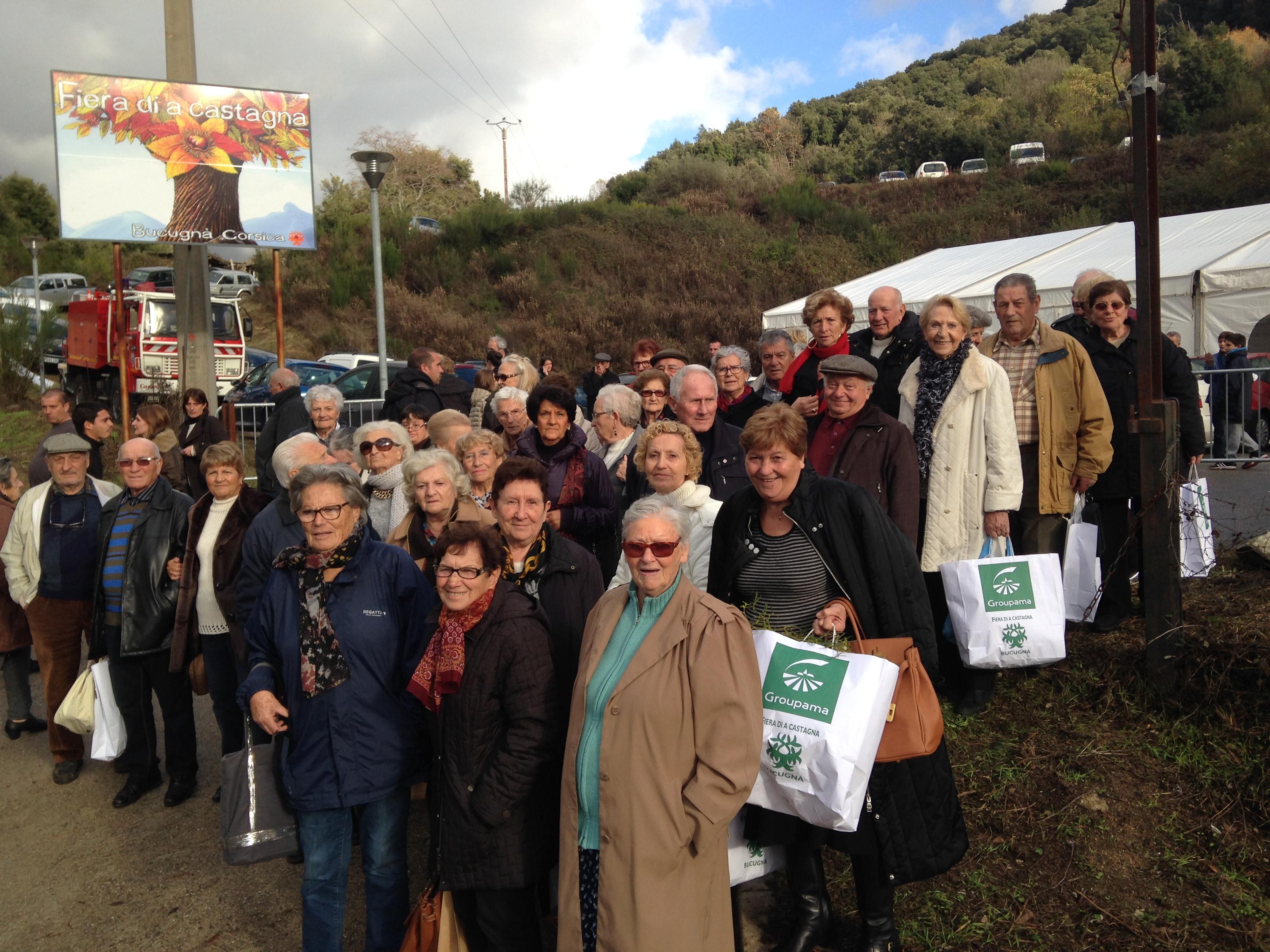Le CCAS de Calvi à la foire de Boccognano