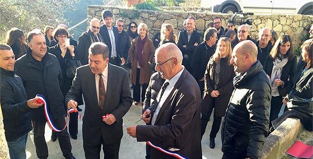 Le relais de services publics des 5 Pieve inaugurés à Pietralba