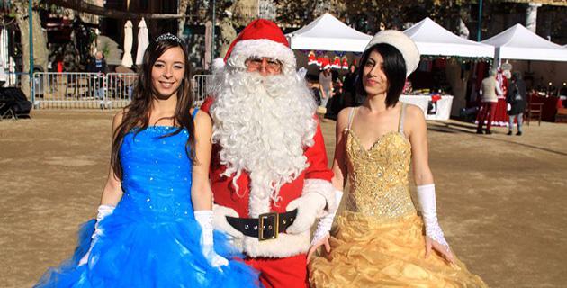 Inauguration du marché de Noël de L'Ile-Rousse